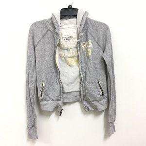 ⭐️Abercrombie and Fitch Grey Light Jacket⭐️
